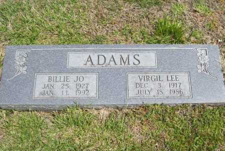 ADAMS, BILLIE JO - Benton County, Arkansas | BILLIE JO ADAMS - Arkansas Gravestone Photos