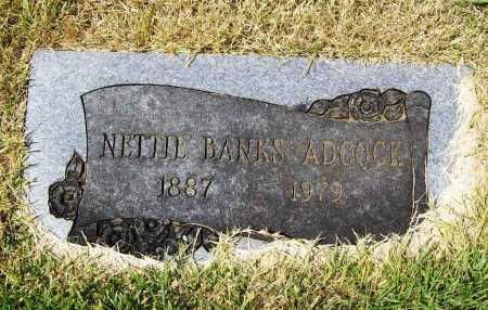 ADCOCK, NETTIE - Benton County, Arkansas | NETTIE ADCOCK - Arkansas Gravestone Photos