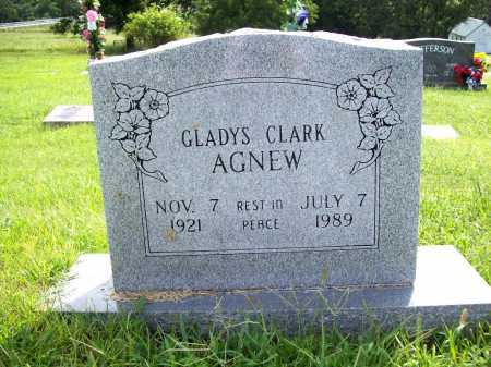 AGNEW, GLADYS - Benton County, Arkansas | GLADYS AGNEW - Arkansas Gravestone Photos