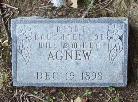 AGNEW, INFANT DAUGHTER - Benton County, Arkansas | INFANT DAUGHTER AGNEW - Arkansas Gravestone Photos