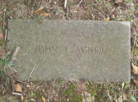 AGNEW, JOHN E. - Benton County, Arkansas | JOHN E. AGNEW - Arkansas Gravestone Photos