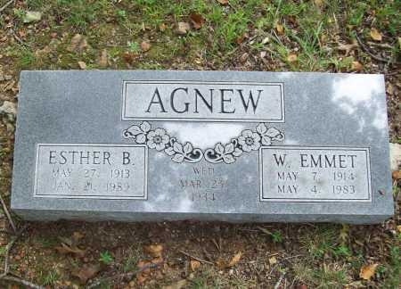 AGNEW, W. EMMET - Benton County, Arkansas | W. EMMET AGNEW - Arkansas Gravestone Photos