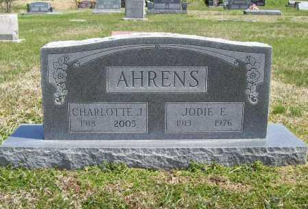 AHRENS, JODIE E. - Benton County, Arkansas | JODIE E. AHRENS - Arkansas Gravestone Photos