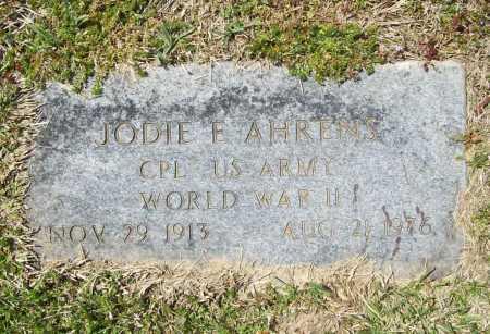 AHRENS (VETERAN WWII), JODIE E - Benton County, Arkansas | JODIE E AHRENS (VETERAN WWII) - Arkansas Gravestone Photos