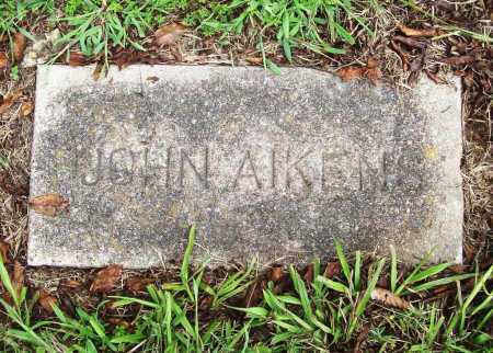 AIKENS, JOHN - Benton County, Arkansas | JOHN AIKENS - Arkansas Gravestone Photos