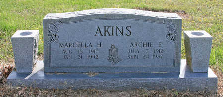 AKINS, MARCELLA H - Benton County, Arkansas | MARCELLA H AKINS - Arkansas Gravestone Photos