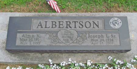ALBERTSON, ALMA K - Benton County, Arkansas | ALMA K ALBERTSON - Arkansas Gravestone Photos