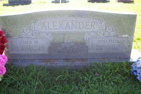 ALEXANDER, ESTHER MOLLY MARIE - Benton County, Arkansas | ESTHER MOLLY MARIE ALEXANDER - Arkansas Gravestone Photos