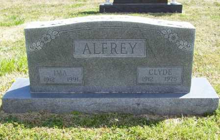 ALFREY, CLYDE R. - Benton County, Arkansas | CLYDE R. ALFREY - Arkansas Gravestone Photos