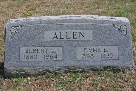 ALLEN, EMMA E. - Benton County, Arkansas | EMMA E. ALLEN - Arkansas Gravestone Photos