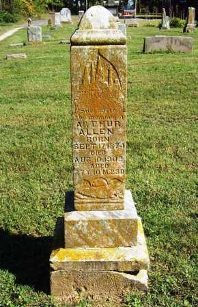 ALLEN, ARTHUR - Benton County, Arkansas | ARTHUR ALLEN - Arkansas Gravestone Photos