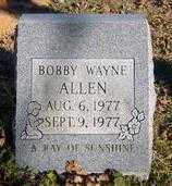ALLEN, BOBBY WAYNE - Benton County, Arkansas | BOBBY WAYNE ALLEN - Arkansas Gravestone Photos
