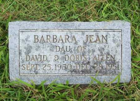 ALLEN, BARBARA JEAN - Benton County, Arkansas | BARBARA JEAN ALLEN - Arkansas Gravestone Photos