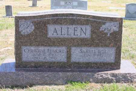 ALLEN, CHRISTINE - Benton County, Arkansas | CHRISTINE ALLEN - Arkansas Gravestone Photos