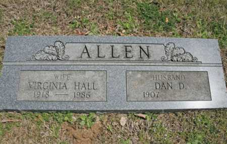 ALLEN, DAN D. - Benton County, Arkansas | DAN D. ALLEN - Arkansas Gravestone Photos