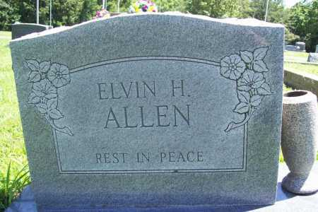 ALLEN, ELVIN H. - Benton County, Arkansas | ELVIN H. ALLEN - Arkansas Gravestone Photos