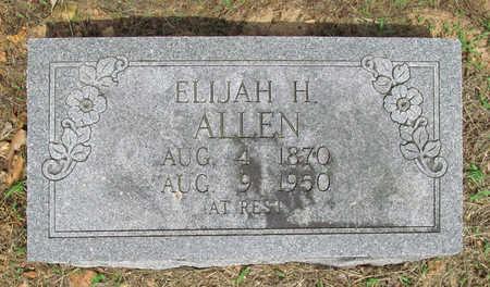 ALLEN, ELIJAH H - Benton County, Arkansas | ELIJAH H ALLEN - Arkansas Gravestone Photos