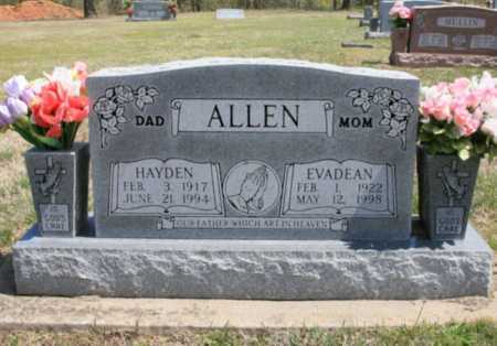 ALLEN, HAYDEN - Benton County, Arkansas | HAYDEN ALLEN - Arkansas Gravestone Photos