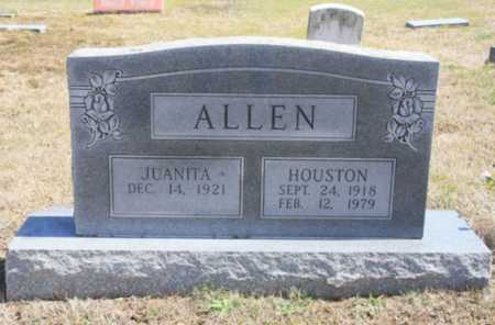 ALLEN, HOUSTON - Benton County, Arkansas | HOUSTON ALLEN - Arkansas Gravestone Photos