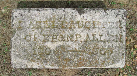 ALLEN, HAZEL - Benton County, Arkansas | HAZEL ALLEN - Arkansas Gravestone Photos