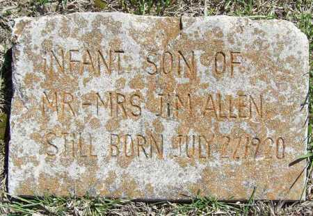 ALLEN, INFANT SON (2) - Benton County, Arkansas | INFANT SON (2) ALLEN - Arkansas Gravestone Photos