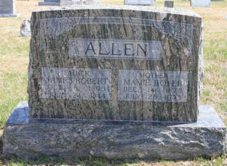 BOYER ALLEN, MAMIE - Benton County, Arkansas | MAMIE BOYER ALLEN - Arkansas Gravestone Photos