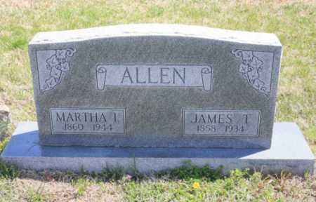 ALLEN, MARTHA I. - Benton County, Arkansas | MARTHA I. ALLEN - Arkansas Gravestone Photos