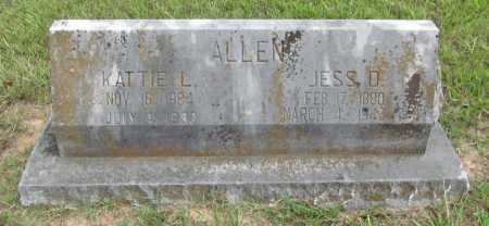 ALLEN, JESS D. - Benton County, Arkansas | JESS D. ALLEN - Arkansas Gravestone Photos