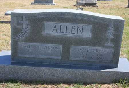 ALLEN, JOSEPH GILBERT - Benton County, Arkansas | JOSEPH GILBERT ALLEN - Arkansas Gravestone Photos