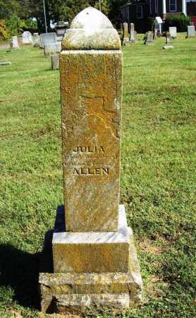 ALLEN, JULIA - Benton County, Arkansas | JULIA ALLEN - Arkansas Gravestone Photos