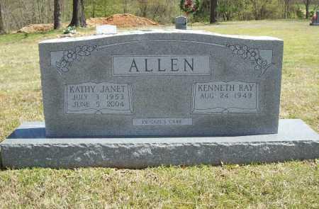 ALLEN, KATHY JANET - Benton County, Arkansas | KATHY JANET ALLEN - Arkansas Gravestone Photos