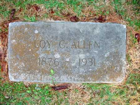 ALLEN, LOY C. - Benton County, Arkansas | LOY C. ALLEN - Arkansas Gravestone Photos