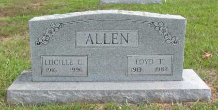 ALLEN, LOYD T. - Benton County, Arkansas | LOYD T. ALLEN - Arkansas Gravestone Photos