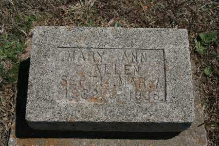 ALLEN, MARY ANN - Benton County, Arkansas | MARY ANN ALLEN - Arkansas Gravestone Photos