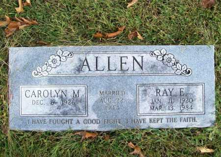 ALLEN, RAY E - Benton County, Arkansas | RAY E ALLEN - Arkansas Gravestone Photos