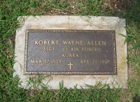 ALLEN (VETERAN KOR), ROBERT WAYNE - Benton County, Arkansas | ROBERT WAYNE ALLEN (VETERAN KOR) - Arkansas Gravestone Photos