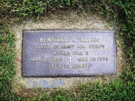 ALLEN (VETERAN WWII), BERNARD R. - Benton County, Arkansas | BERNARD R. ALLEN (VETERAN WWII) - Arkansas Gravestone Photos