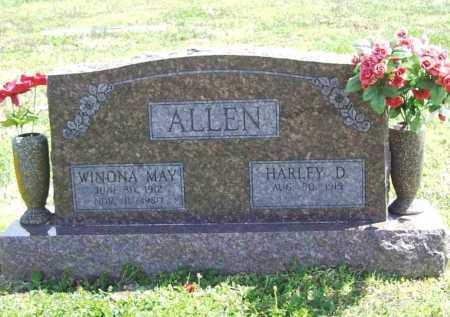 ALLEN, WINONA MAY - Benton County, Arkansas   WINONA MAY ALLEN - Arkansas Gravestone Photos
