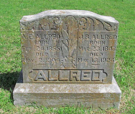 ALLRED, J B - Benton County, Arkansas | J B ALLRED - Arkansas Gravestone Photos