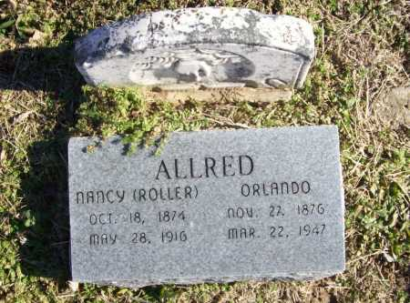 ALLRED, NANCY - Benton County, Arkansas | NANCY ALLRED - Arkansas Gravestone Photos