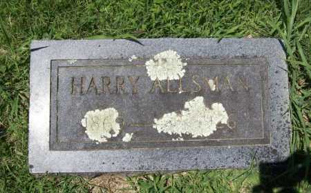 ALLSMAN, HARRY - Benton County, Arkansas | HARRY ALLSMAN - Arkansas Gravestone Photos