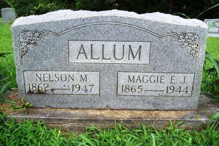 ALLUM, MAGGIE E. J. - Benton County, Arkansas | MAGGIE E. J. ALLUM - Arkansas Gravestone Photos