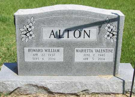VALENTINE ALTON, MARIETTA - Benton County, Arkansas | MARIETTA VALENTINE ALTON - Arkansas Gravestone Photos