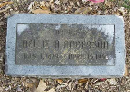 ANDERSON, NELLIE A. - Benton County, Arkansas | NELLIE A. ANDERSON - Arkansas Gravestone Photos