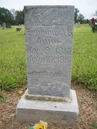 AMOS, EMMANUEL B. - Benton County, Arkansas | EMMANUEL B. AMOS - Arkansas Gravestone Photos