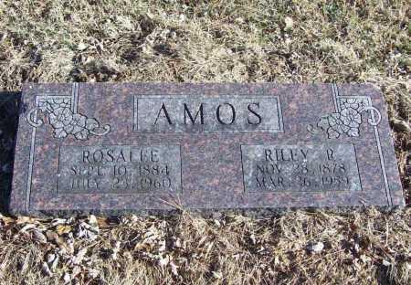 AMOS, RILEY R. - Benton County, Arkansas | RILEY R. AMOS - Arkansas Gravestone Photos