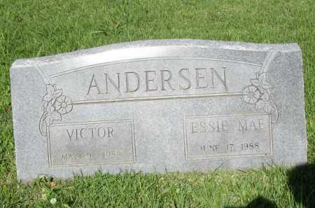 ANDERSEN, VICTOR - Benton County, Arkansas | VICTOR ANDERSEN - Arkansas Gravestone Photos