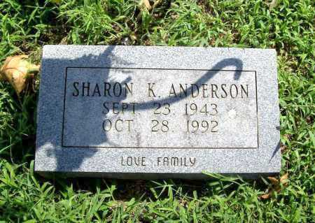 ANDERSON, SHARON K. - Benton County, Arkansas | SHARON K. ANDERSON - Arkansas Gravestone Photos
