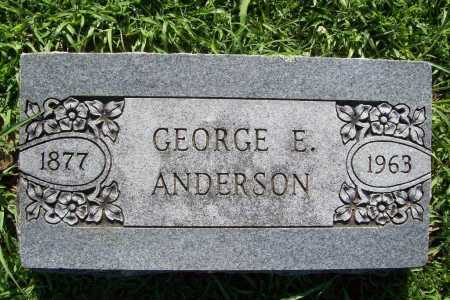 ANDERSON, GEORGE E. - Benton County, Arkansas | GEORGE E. ANDERSON - Arkansas Gravestone Photos