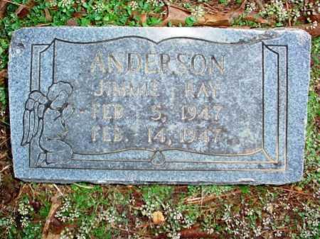 ANDERSON, JIMMIE RAY - Benton County, Arkansas | JIMMIE RAY ANDERSON - Arkansas Gravestone Photos